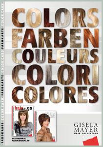 Gisela Mayer Wigs Color Chart USA